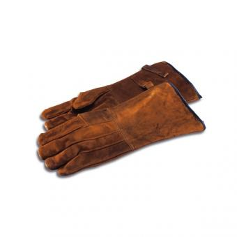 leather gloves for holding animals